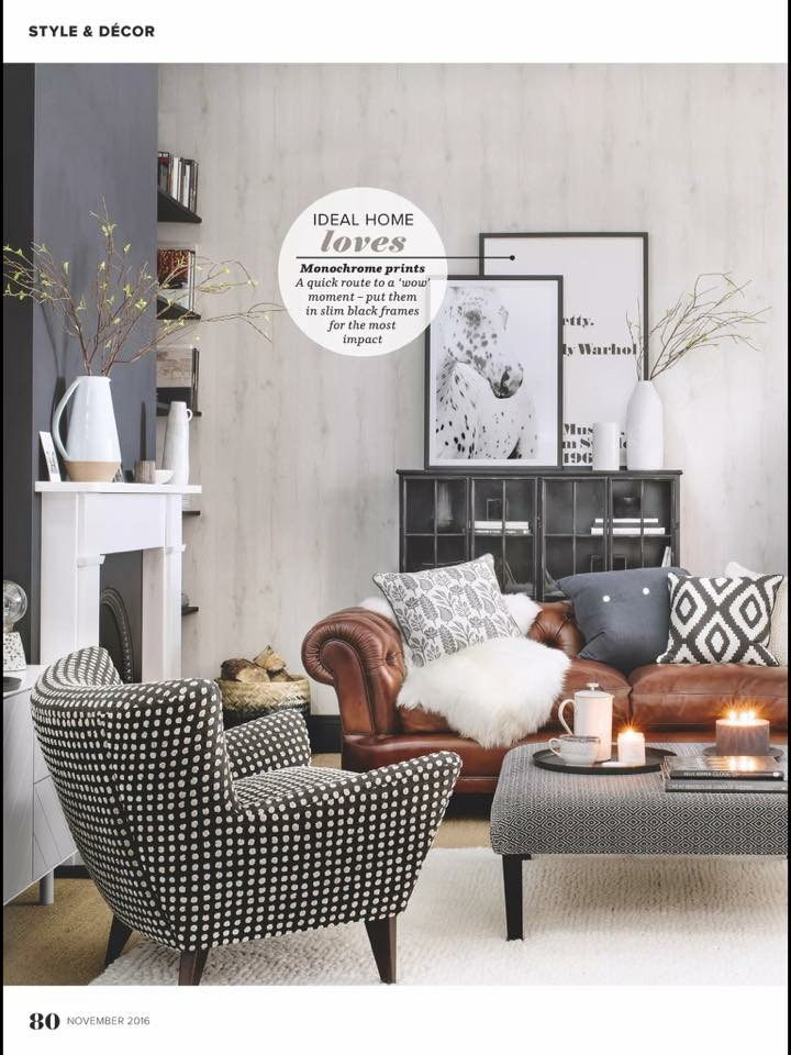 Spots In a UK Home Magazine
